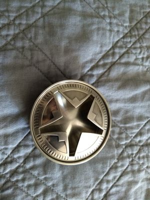 TEXAS STAR STAINLESS STEEL ASHTRAY !! for Sale in Squaw Valley, CA