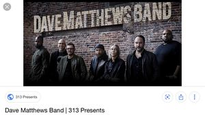 Dave matthews band 7/27 -sat Coral Skye Ampitheatre for Sale in Oakland Park, FL