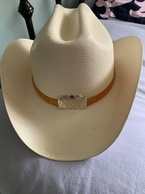 Los Altos White Western Hat/ size 55 Mex/6 7/8 USA for Sale in Riverdale, MD
