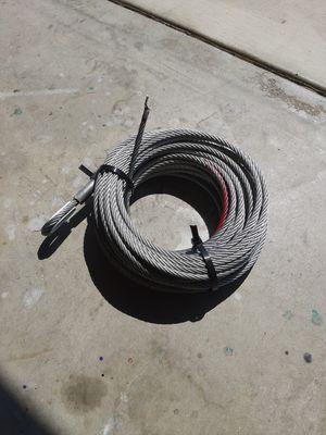 Steel Winch Line (from 9,500 LB winch) for Sale in Oceanside, CA