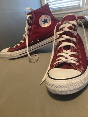 High top Converse 9.5 men for Sale in Milwaukee, WI