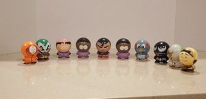 Set of 10 Comedy Partners Figures Toppers toys for Sale in Buena Park, CA