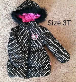 Hello Kitty Winter Jacket Size 3T girl for Sale in Phoenix, AZ