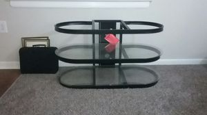 Glass TV Stand 40 inches and up for Sale in Laurel, MD