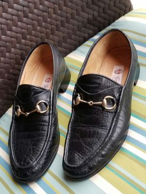 Men's Gucci vintage horsebit loafers dress shoes Size 44.5 (11.5) for Sale in DW GDNS, TX