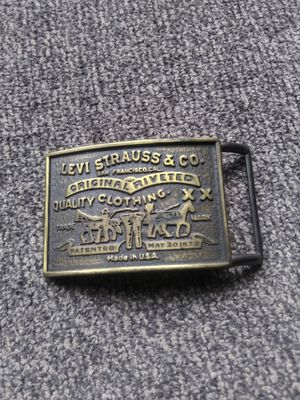Levi Strauss Belt Buckle for Sale in Streetsboro, OH