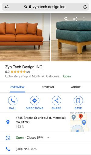 Upholster need for Sale in Montclair, CA