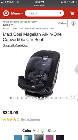 Maxi Cosí all in 1 Convertible Car Seat for Sale in Burien, WA