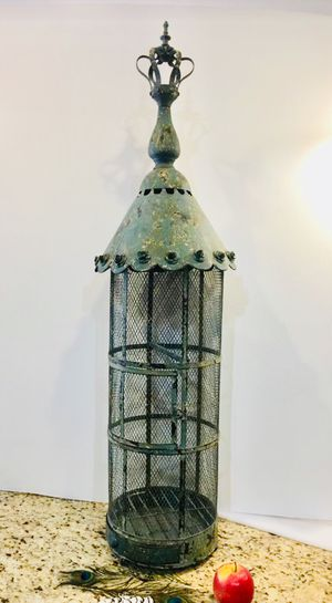 Bird Cage for zebra finch or decoration for Sale in Winchester, CA