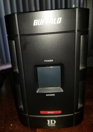 Buffalo 1TB DriveStation Duo External Hard Drive {link removed} for Sale in Amarillo, TX