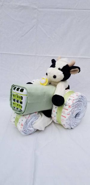Diaper Cake - Tractor for Sale in Roy, WA
