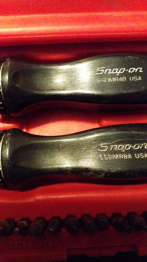 Snap-on Master Ratcheting Magnetic Screwdriver Set (3 SCREWDRIVERS) for Sale in Newburgh, IN