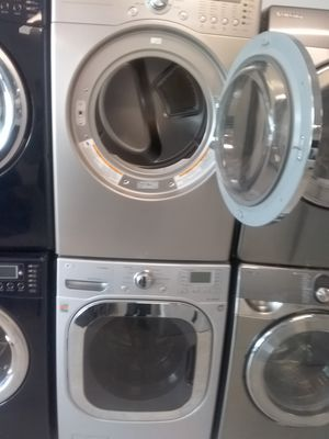 Lg washer and dryer used good condition 90days warranty for Sale in Mount Rainier, MD