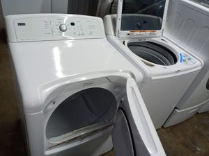 🎀🎀🎈kenmore elite washer large capacity dryer electric nice set🎀🎀🎈 for Sale in Houston, TX