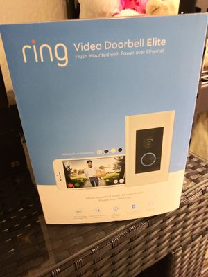 Video Doorbell Elite (Ring) for Sale in Miami, FL