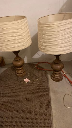 Wooden lamps for Sale in East Greenville, PA