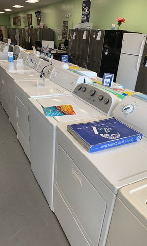 Top load washers or dryers electric or gas on sale no credit needed for Sale in Essex, MD