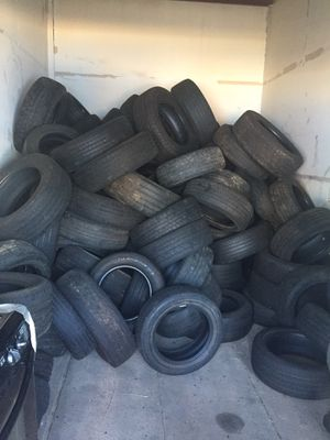 Tires and 3 -80 gallon air compressor and dryer for sale for Sale in Baltimore, MD