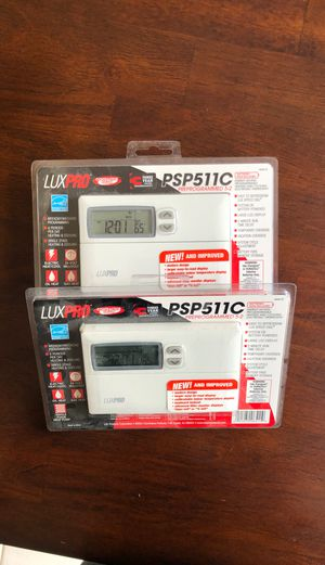 2 LuxPro PSP511C Thermostats for Sale in Tewksbury, MA