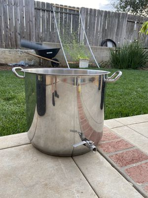 15 gallon stainless steel kettle for Sale in Vista, CA