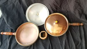 Copper pan set for Sale in Long Beach, CA