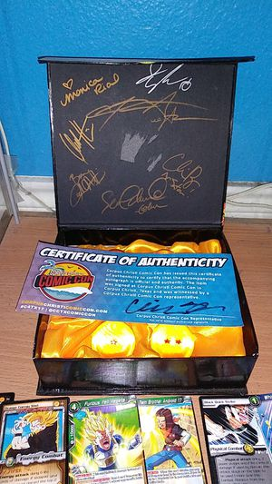 Dragon Ball Z signed Dragon Ball set for Sale in San Antonio, TX
