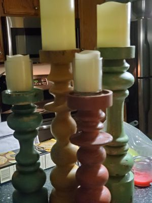 Wooden Candle holders for Sale in Richmond, VA