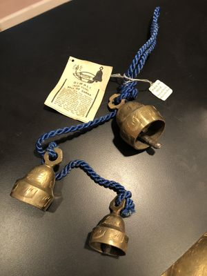 Vintage Brass Bells Sarna India for Sale in Feasterville-Trevose, PA