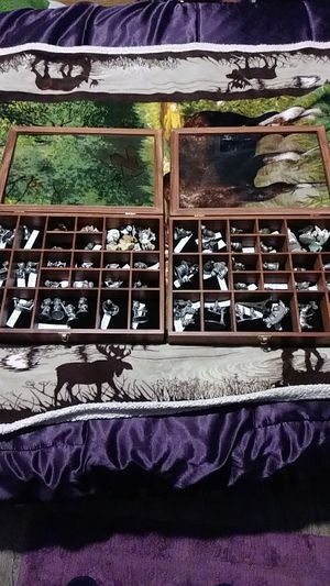 Selling my Pewter collection over 50 Peices from 1968 to 1988 and Both glass cases All Like New had for over 28 yrs in storage Asking 125 CASH O.B.O. for Sale in Kent, WA