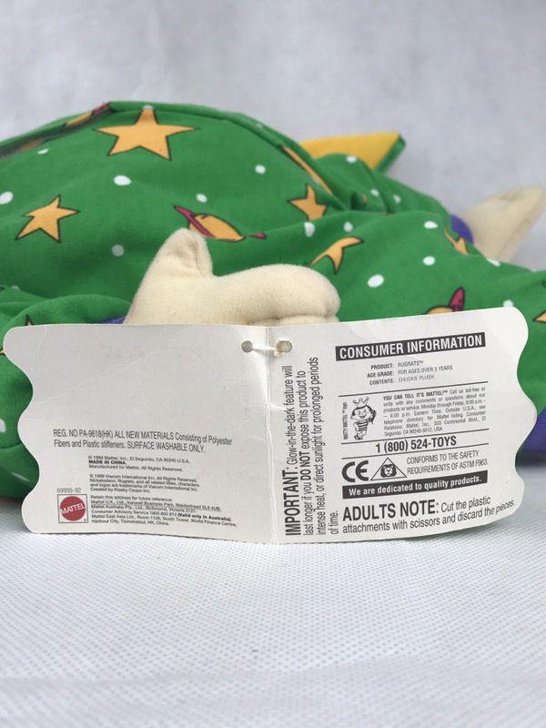 Nickelodeon Rugrats Chuckie Bedtime Plush, Stuffed Doll