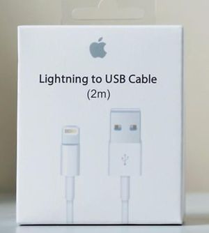iPhone cable one Lightning Cable 2m 6ft Charging Cord Authentic OEM for Sale in Phoenix, AZ