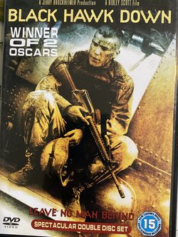 Black Hawk Down PAL DVD Movie Film for Sale in Chula Vista, CA