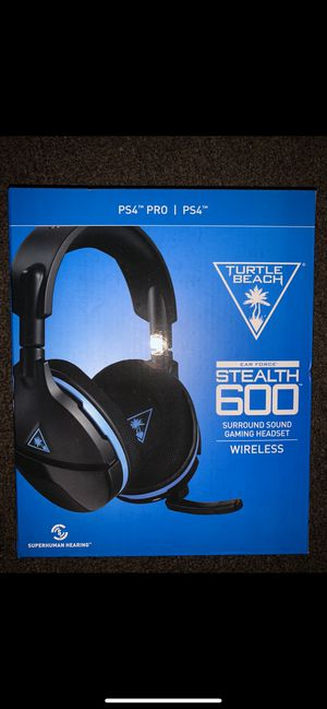 Turtle Beach Stealth 600 Headset PS4 for Sale in San Francisco, CA