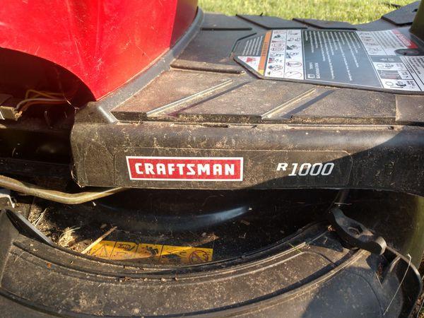 Craftsman 30in riding lawn mower