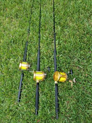 Penn international fishing trolling rods for Sale in Sunrise, FL