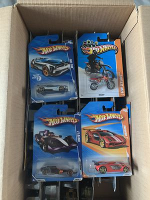 56 hotwheels toy cars diecast for kids for Sale in Murfreesboro, TN