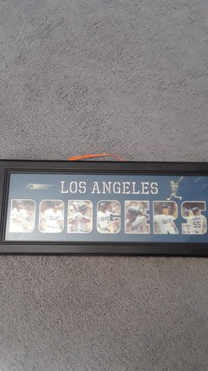 LOS ANGELES DODGERS PROFESSIONALLY FRAMED PHOTO for Sale in Clovis, CA