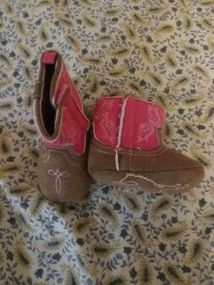 Baby girl size 2 boots for Sale in Bell, CA