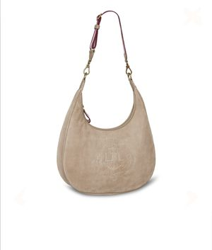 Ralph Lauren Anchor Suede Hobo Bag for Sale in Darnestown, MD