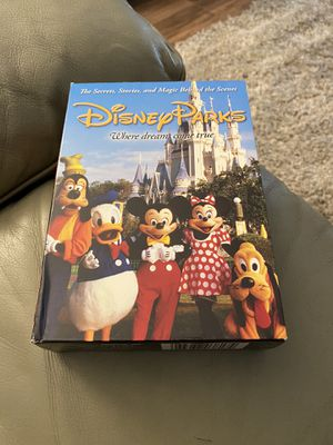 Disney Parks Behind The Scenes DVD Set for Sale in Redington Shores, FL