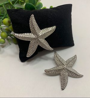 Fashion Shiny Ocean Sea Starfish Earrings For Women, Silver Color for Sale in Irvine, CA