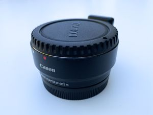 Canon EF-M Lens Adapter Kit for Canon EF / EF-S Lenses for Sale in Gilroy, CA