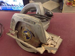 """Vintage 7-1/2"""" craftsman circular saw -PRICE IS FIRM for Sale in Columbus, OH"""