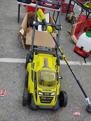 Ryobi 40v Lawn mower & Weed eater package for Sale in Fairview, TX