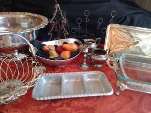 Silver/pewter party set for Sale in Hiram, GA