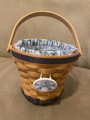 Longaberger Daisy basket for Sale in Tampa, FL
