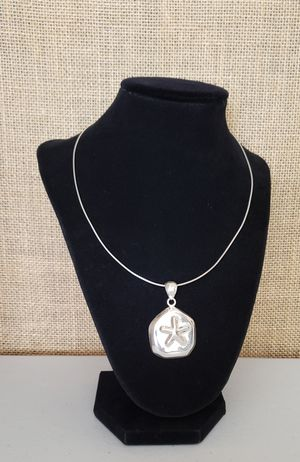 Beautiful Sterling Silver Necklace and Sea Star Charm for Sale in Burien, WA
