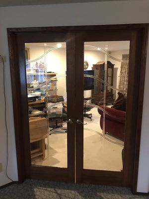 Double glass interior door for Sale in Puyallup, WA