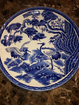 Vintage Japanese Imari Handpainted Plate Charger Large for Sale in Hayward, CA