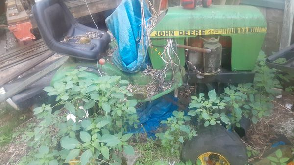 John Deere tractor customized